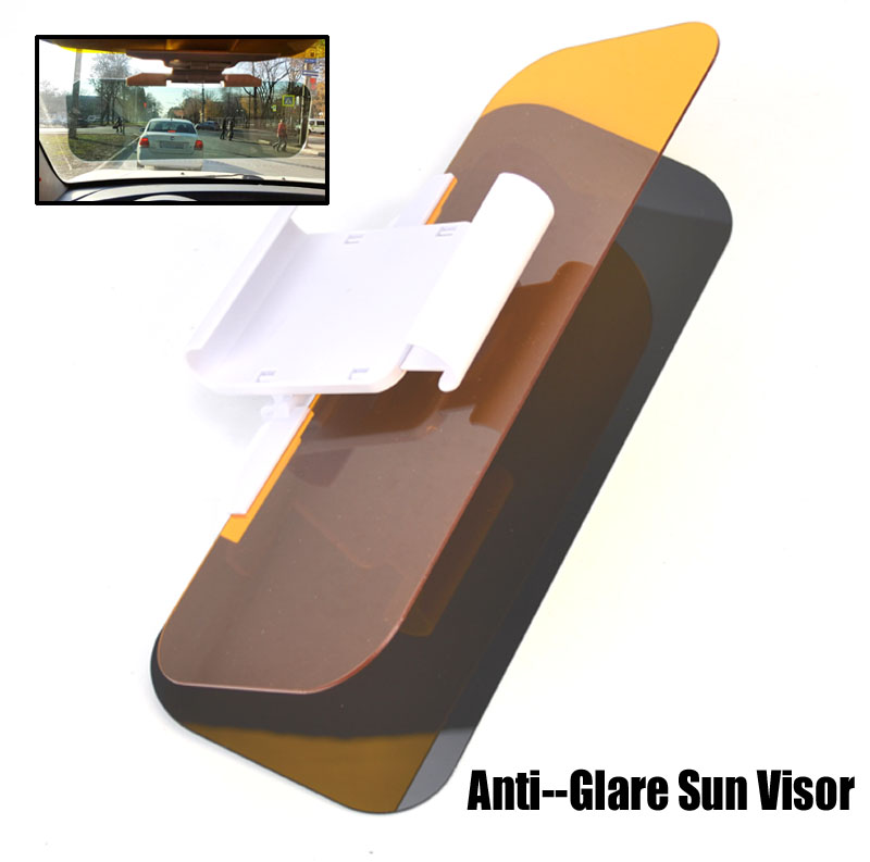 hd clear view car sun visor goggle day night anti dazzle anti glare mirror uv blocker sun shade. Black Bedroom Furniture Sets. Home Design Ideas