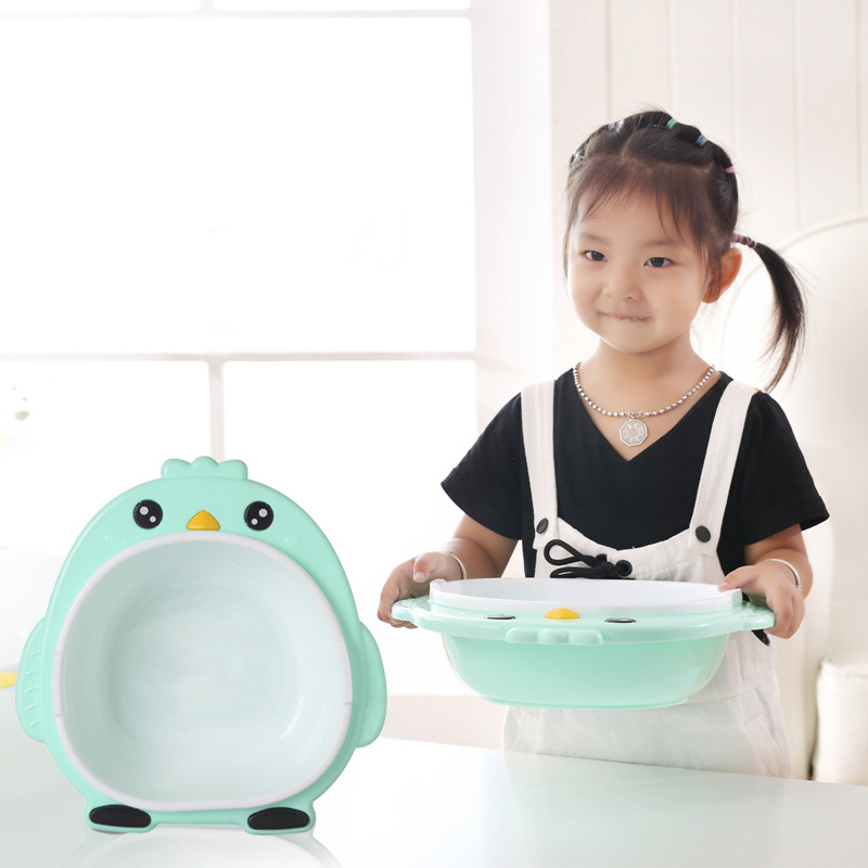 Baby Cartoon Bird Washbasin Plastic Chil