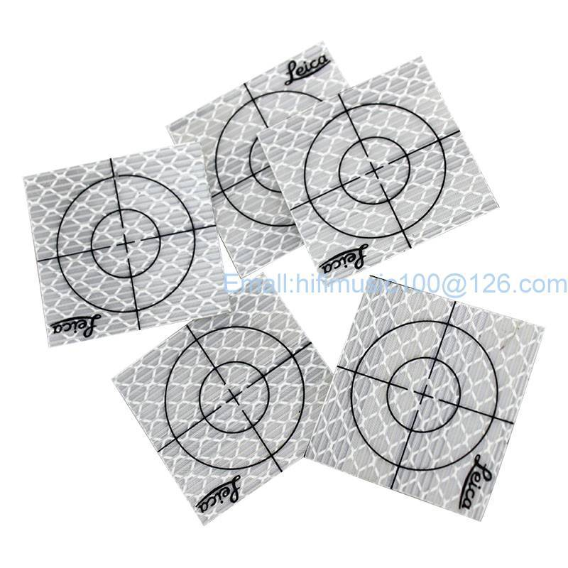 300pcs Reflector Sheet 40 x 40 mm Reflective Tape Target for Total Station ...