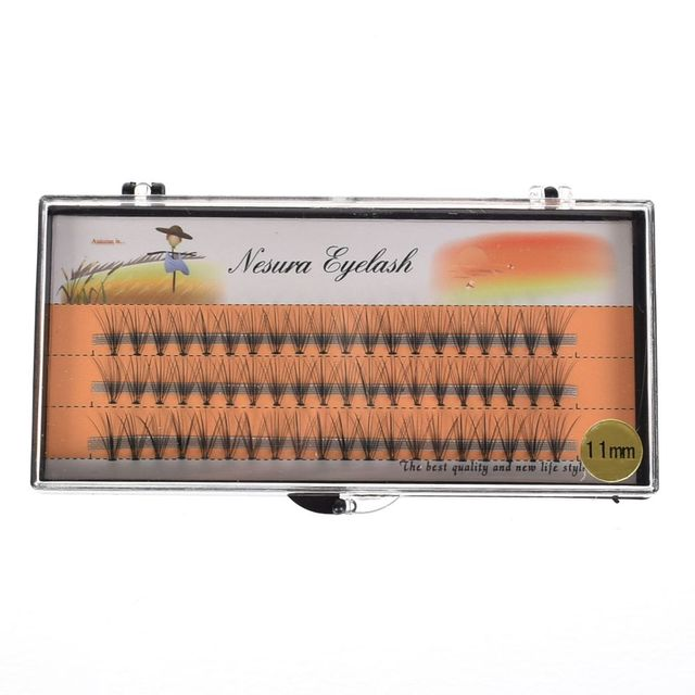 1 Box 0.07 C  Individual Wave Eyelashes Natural Long False Eyelashes Fake Artificial Eyelash Extension Eye Makeup Beauty Tool 5