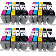 20pk New Canon PGI 470 CLI 471 Compatible ink cartridges for CANON PIXMA MG 5740 8640 / TS 5040 6040 inkjet Printer