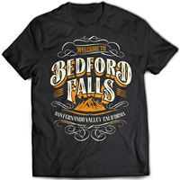 Shirts Trend Clothing Crew Neck 9058 Bedford Falls T Shirt It S A Wonderful Life Frank
