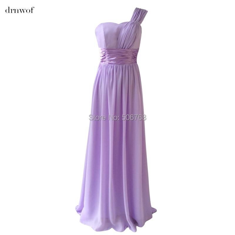 Compra purple vestidos de dama de nueva gasa online al por mayor de ...