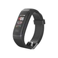 Elephone MGcool Band 5 Smart Bracelet Wristband Heart Rate Monitor Sport Wireless Fitness Tracker Smart band for IOS/Android
