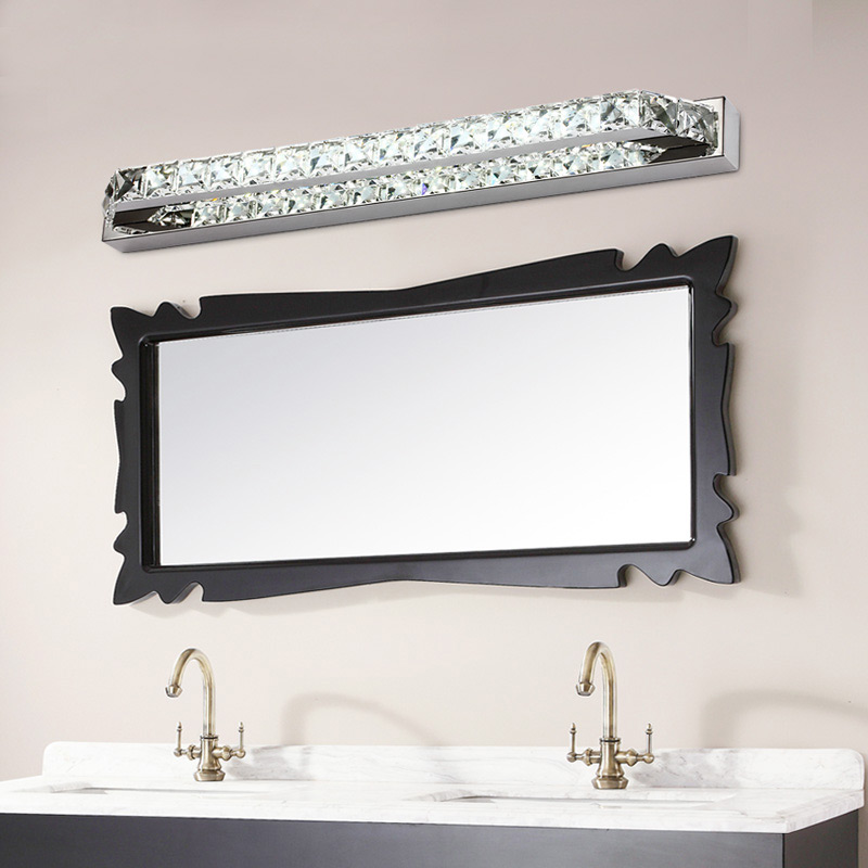 87cm lung de cristal baie oglinda usa lampa 110V / 220V 23W condus - Iluminatul interior - Fotografie 2