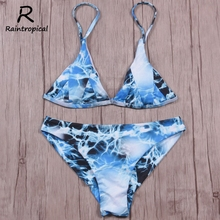 Raintropical 2019 Newest Sexy Mini Micro Bikini Swimwear Women Swimsuit Thong Brazilian Bikini Set Bathing Suits Swim Wear