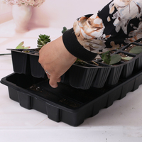 24 Cells Plant Seeds Grow Nursery Pots Tray Vegetable Seedling Pot Plastic Nursery Tray Hydroponic Seedling Tray Sprout Plate