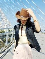 Счастливое воскресенье коричневый чистый бумага ручной работы ковбойской шляпе, пляжный зонтик соломенная шляпа, приморский праздник шляп...