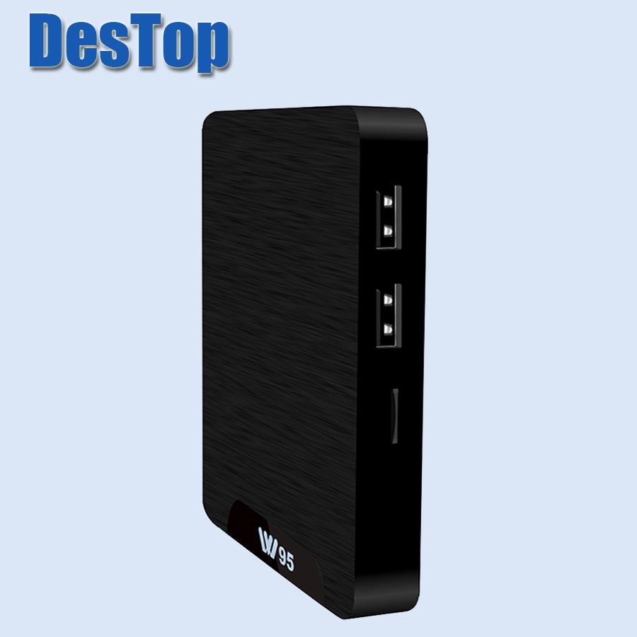 10 sztuk z systemem Android 1G 8G/2G 16G S905W Quad Core 7.1 OS w95 telewizor z dostępem do kanałów pudełko HD WIFI 2.4G w Dekodery STB od Elektronika użytkowa na  Grupa 1