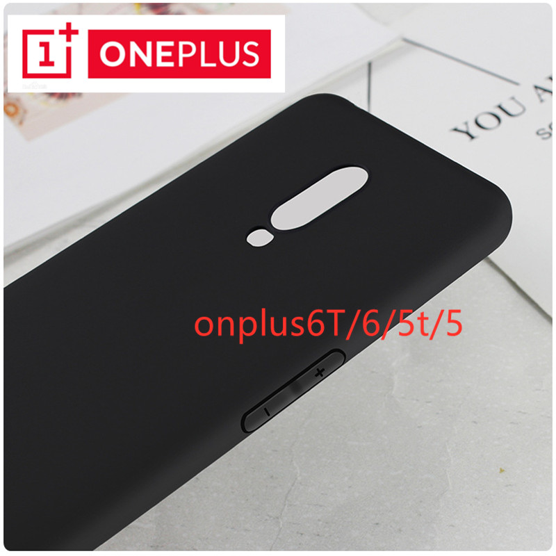 oneplus Case  OnePlus 5T One Plus 5T 1+5T Matte Back Covers Soft Dirt Resistant Phone Bag Cases for OnePlus 7 6T 6 5 OnePlus 6T