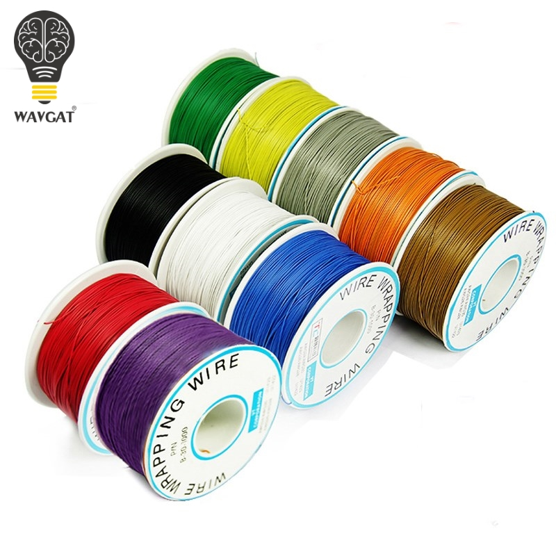 WAVGAT PCB flying jumper wire OK line 250meter 820FT 30AWG single conductor