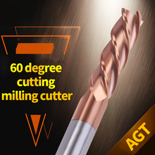 4mm 6mm 8mm 10mm Cutting HRC60 4 Flute CNC Machine Tools End Mill Tungsten Steel Milling Cutters Aluminium Copper Metal