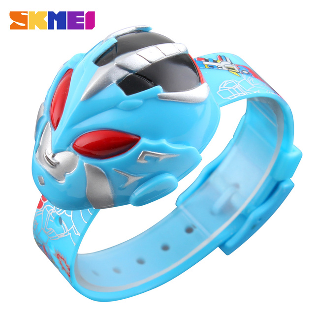 SKMEI Children Watch Fashion Boys Girls Student Cute Kids Watches Digital Clocks