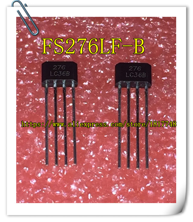 Free Shipping 10PCS/LOT FTC S276 FS276LF-B FS276 FS276LF marking 276 SIP-4 NEW ...