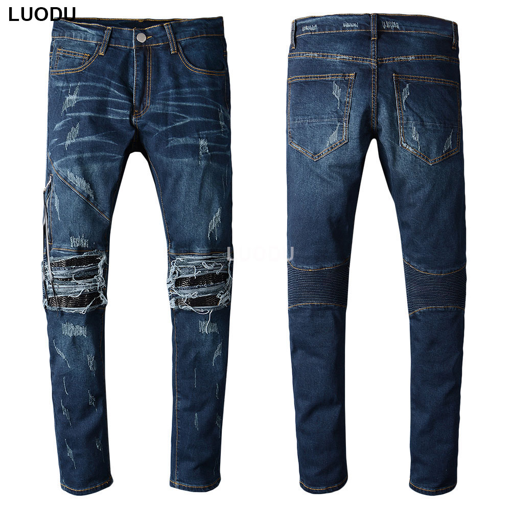 Big Mens Stretch Jeans