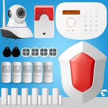 S2G Chuangkesafe Kit Sistema de Alarma de Su Casa GSM antirrobo Inteligente Sirena Con Ip 4 Controlador Remoto