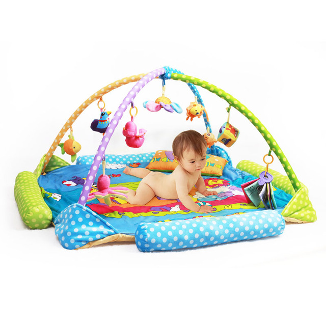 194314f16da13 Baby blanket game Baby Activity Play Mat Baby Gym Educational Fitness Frame  Multi-bracket Baby Toys Game Mats