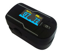 24pcs Health Care Choicemmed Black LED Finger Pulse Oximeter Blood Oxygen SpO2 Saturation Oximetro Monitor MD300C21C