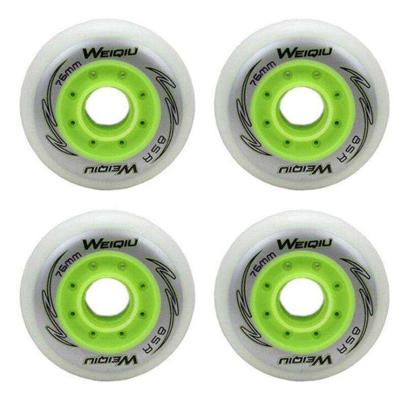 4pcs/lot Inline Skate Wheels 72 76 80mm Roller Skate Wheels Wearable Skate Rodas For Slalom Slide Free Skating