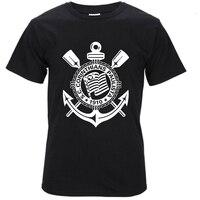 2017 New Men T Shirt Loose Clothes Corinthian Footballer Short Sleeves Cotton Fashion T Shirt Free