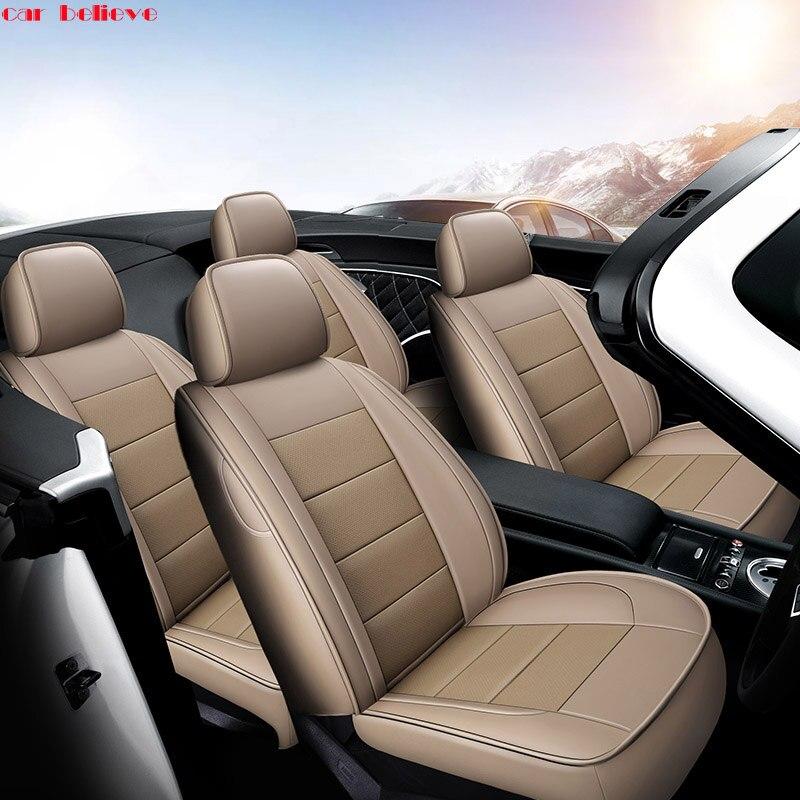 Автомобиль считаем Авто автомобилей коровьей сиденья для Nissan Qashqai Примечание Мурано МАРТА Teana TIIDA X-Trail автомобильные аксессуары стиль