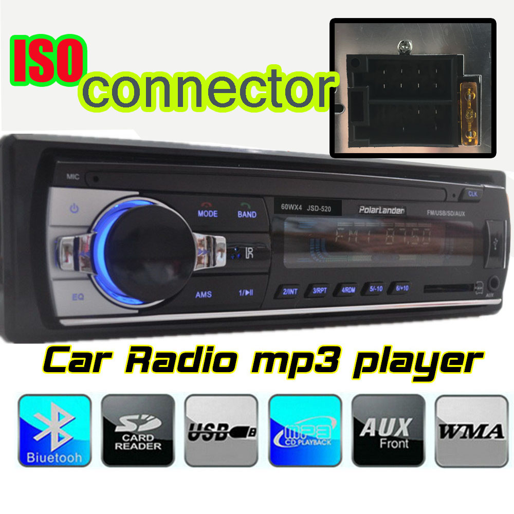 new 12v car radios tuner stereo bluetooth fm radio. Black Bedroom Furniture Sets. Home Design Ideas