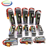 4S 14.8V RC Car LiPo Battery 1300 1800 2200 2600 3300 4500 6000mAh 30C 40C60C For RC Airplane Drone Helicopter Batteries LiPo 4S 1