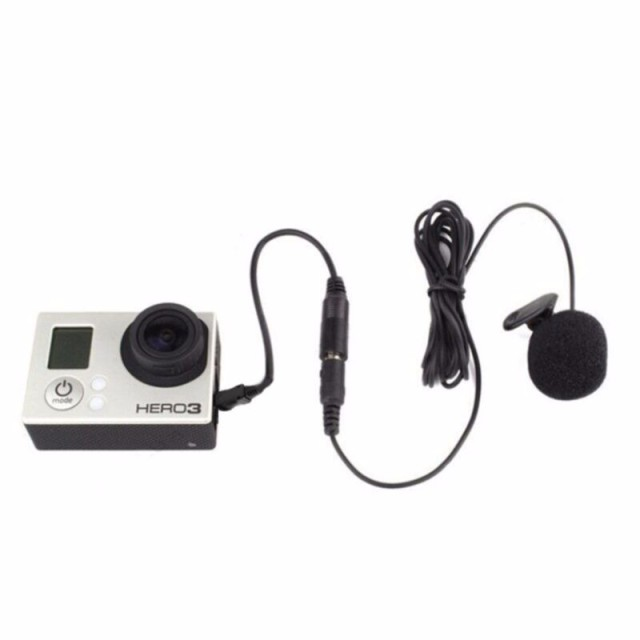 Clip Microphone for Gopro hero 3 + 4