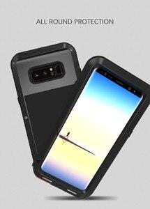Image 3 - Для samsung Galaxy Note 8 чехол Love Mei мощный ударопрочный Алюминиевый металлический чехол для samsung Note 8 чехлы для телефонов