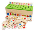 wooden toy classify box puzzle wood block Intelligence match game baby gift 1set