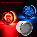 Water temp gauge 52mm 2inch EVO LCD Red/Blue Water Temp Gauge With Sensor 40-140 Degree Tachometer/car meter/auto gauge