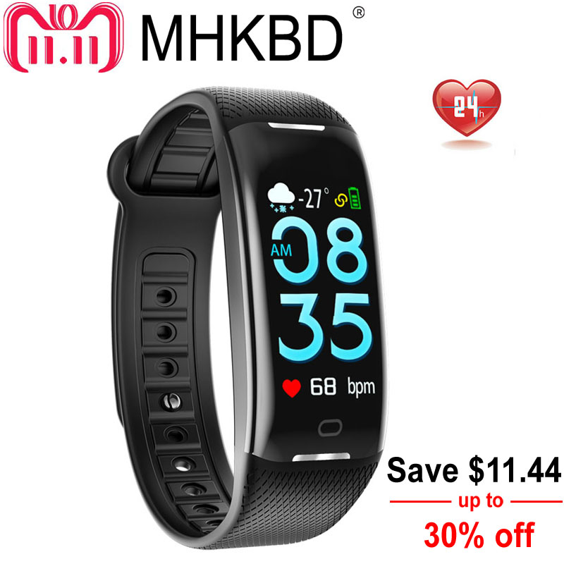 MHKBD Fitness Bracelet Activity Tracker Blood Pressure Pulse Monitors Wrist Watch Heart Rate Monitor Portable Sphygmomanometer все цены