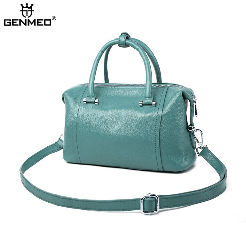 MAIFEINI Genuine Leather Handbag Women Cow Leather Shoulder Bags New Sexy Ladies Real Leather Messenger Bag Female Tote Bags