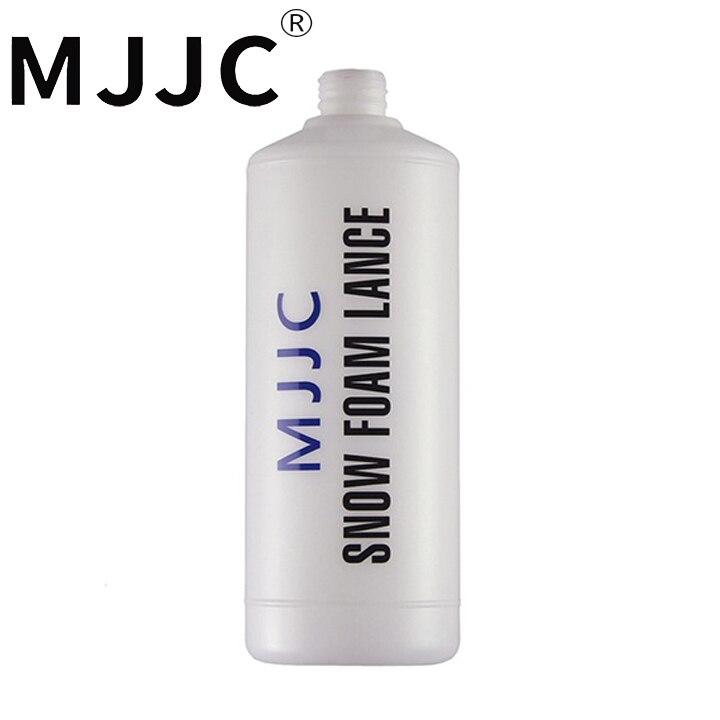 Botella MJJC marca de espuma de 1 litro jarra vacía de 1000ml para cañón de espuma con el accesorio de alta calidad para automóviles Perlas naturales de agua dulce de alta calidad 36 cm perlas sueltas perforadas DIY señoras collar pulsera producción 12-16