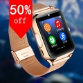 Con pantalla ips bluetooth smart watch fashion for iphone 4/4s/5/5s/6/6 + ios para samsung note/s6 teléfono android smartwatch