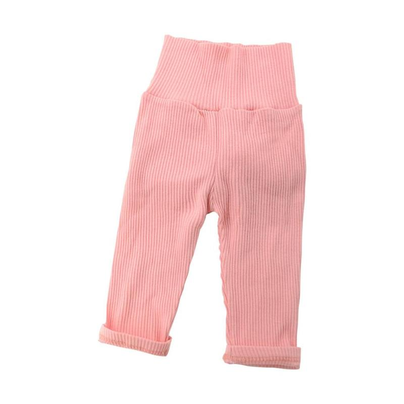Baby Girls Clothes Cute Hair Ball Rabbit Tail Spring Pants Children Casual Long Trousers Kids Clothing for 0- 2 Years(China)