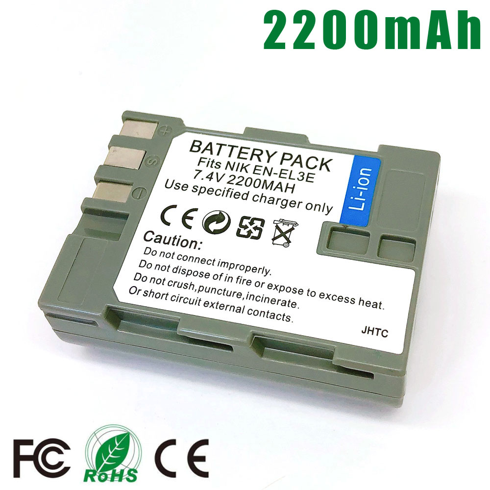 EN-EL3E Batterie Pour Nikon ENEL3E EN EL3E EL3a EN-EL3a D90 D80 D300 D300s D700 D200 D70 D50 D70s D100 D-100 D-300 D-70 D-90