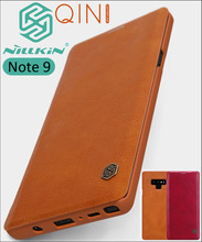 Nillkin Qin Flip Leather Case Cover For Samsung Galaxy Note 9