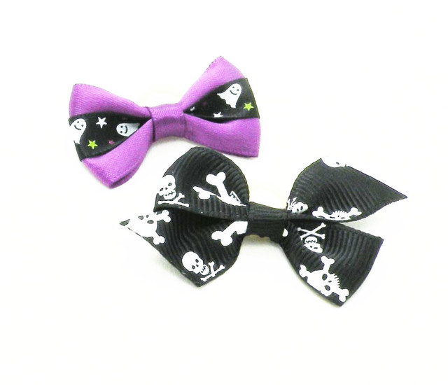 Best Hair Bows Bow Adorable Dog - 100PC-Lot-Cute-Halloween-Skull-Ribbon-Dog-Bow-Hair-Bows-Pet-Puppy-Holiday-Accessories  Image_586164  .jpg