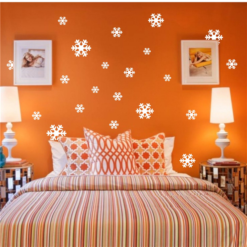 aliexpresscom buy on sale10 pieces white snowflake wall stickers windows glass sticker christmas home decorations stickers for kids rooms from reliable