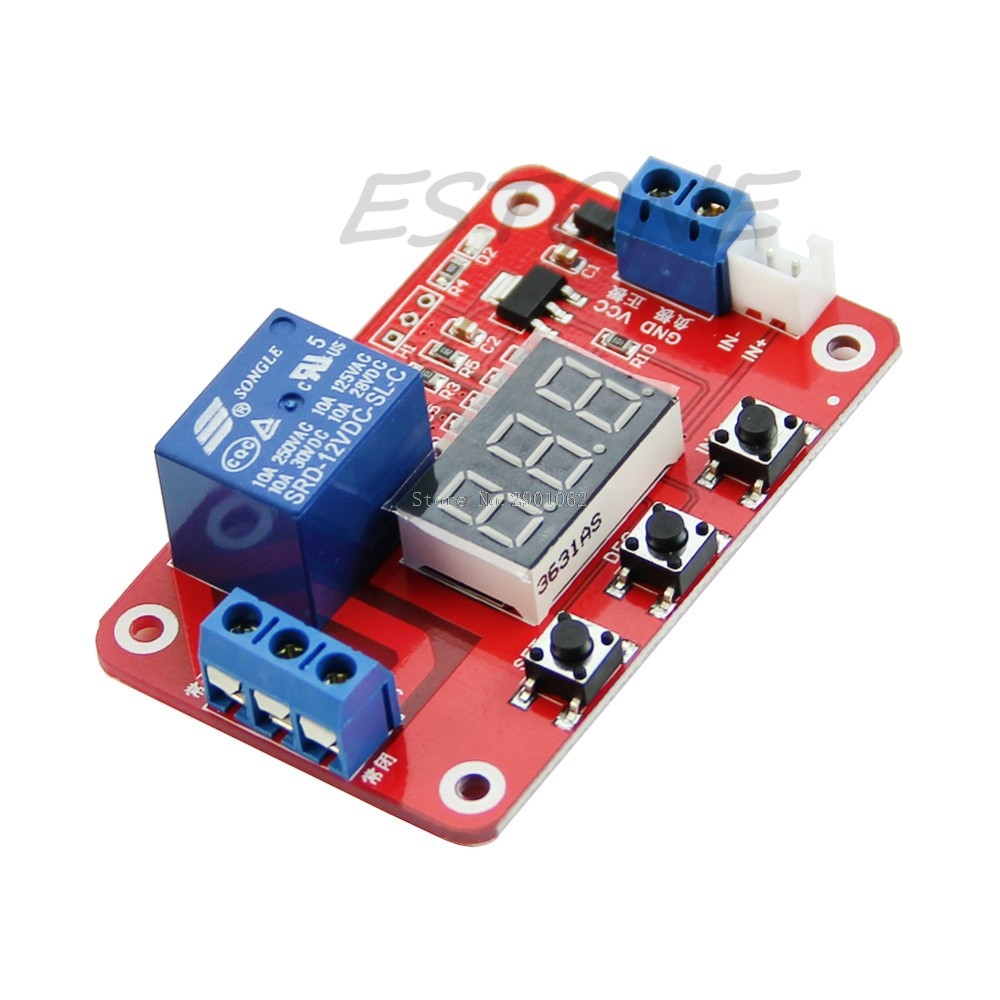DC 12V Digital Temperature Display Module Sensor Relay Switch Control 20 100 centigrade B119