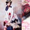 135 140cm Wide 12mm Big Size Floral Print Silk Organza Fabric For Dress Shirt Clothes Pants