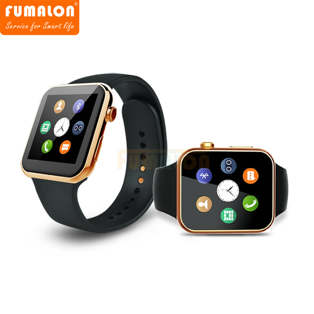 FUMALON Smartwatch A9 Bluetooth Smart watch for Apple iPhone IOS Android Phone relogio inteligente reloj Smartphone Watch