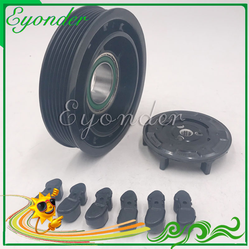 A C AC Air Conditioning Cooling Compressor Magnetic Clutch Kit Assembly for RENAULT MEGANE MEGANE CC