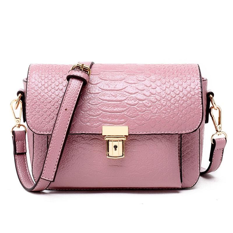 ФОТО Newest designer women high quality messenger bag ladies clutch small crocodile shoulder bags brand famous bucket cross body bag