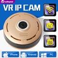 1.3MP 960 P 3D VR Fisheye IP Wi-fi Câmera de Visão Noturna Panorama do Monitor do bebê Sem Fio CCTV Câmera de Segurança P2P APLICATIVO Inteligente vista