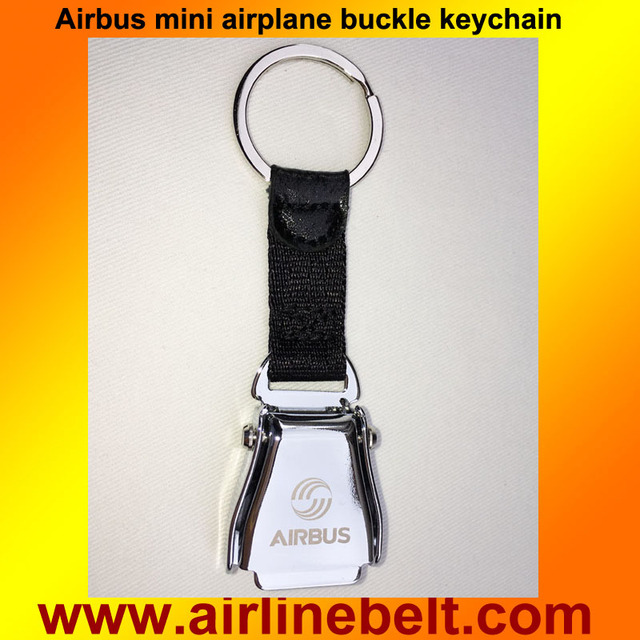 78fc9be1341c8c Motorcycle Key Chain Mini Airplane Seatbelt Buckle Keychain Keyring with  Airbus Logo opel Key Ring