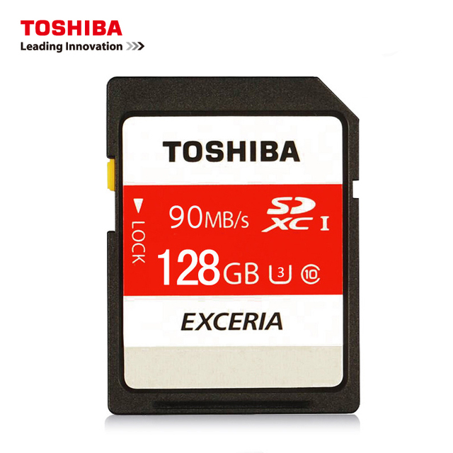 TOSHIBA Memory Card  N302  128GB 64GB SDXC Max UP 90MB/S SD Card SDHC 32GB 16G Class10 With Adapter Official Verification SD Car