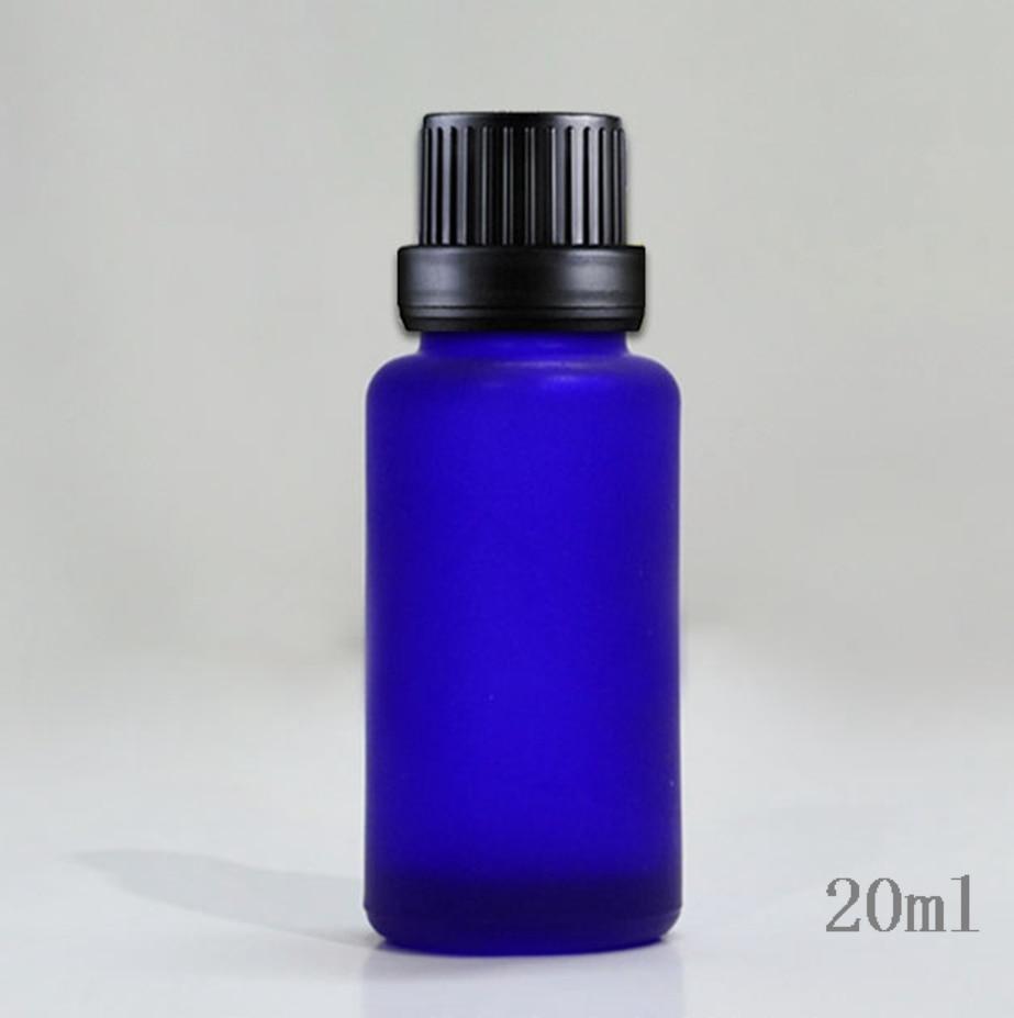 50 pcs atacado 20 ml geada r de alta qualidade garrafa de vidro de oleo vazio