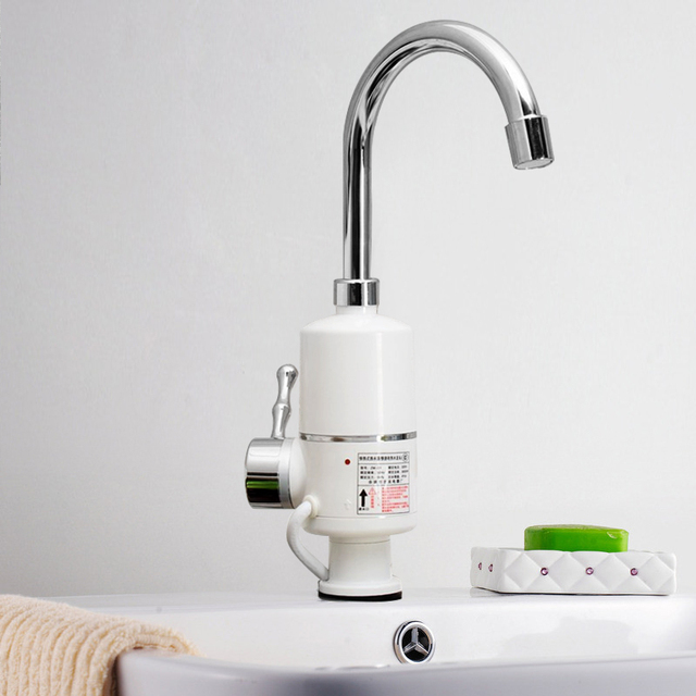 Electric Hot Water Heater >> 3000w Electric Hot Water Tap Electric Water Heater Bathroom Kitchen